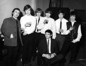 Photo of Charlie WATTS and Keith RICHARDS and Brian JONES and Mick JAGGER and Gene PITNEY and Phil SPECTOR and ROLLING STONES and Bill WYMAN