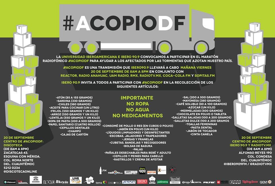 acopio df