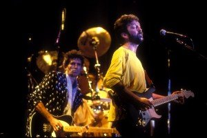 Eric Clapton Keith Richards Ritz 1986