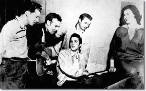 Million-Dollar-Quartet-Jerry-Lee-Lewis-Carl-Perkins-Elvis-Presley-Johnny-Cash-and-Marilyn-Evans