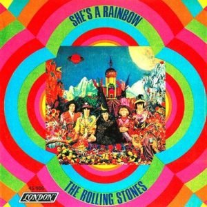 The Rolling Stones - Shes A Rainbow (single)