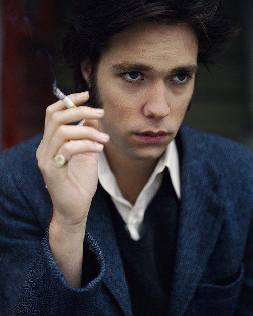 Musician Rufus Wainwright Smoking Cigarette