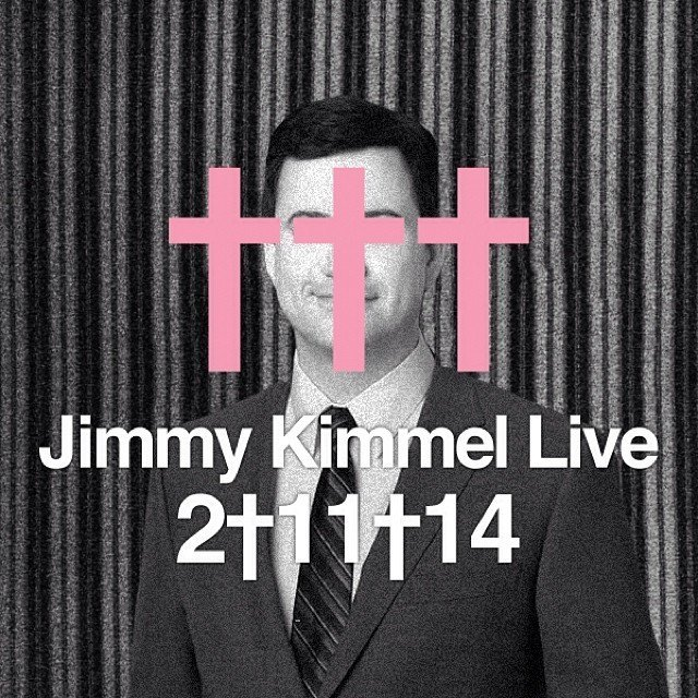 crosses jimmy kimmel