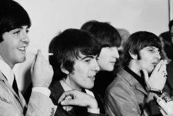 Beatles At San Francisco Press Conferance