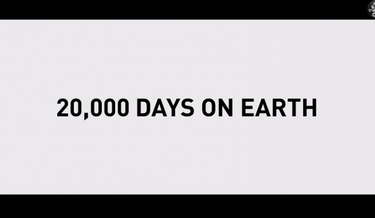 20,000 days on earht