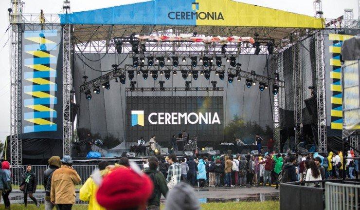 festival ceremonia escenario