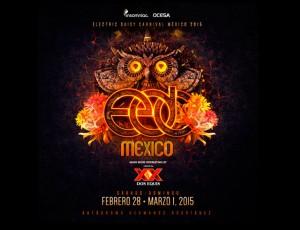 EDC Mexico 2015. Cartel Oficial, fechas, precios boletos y más