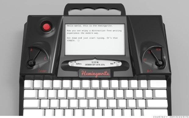 the hemingwrite