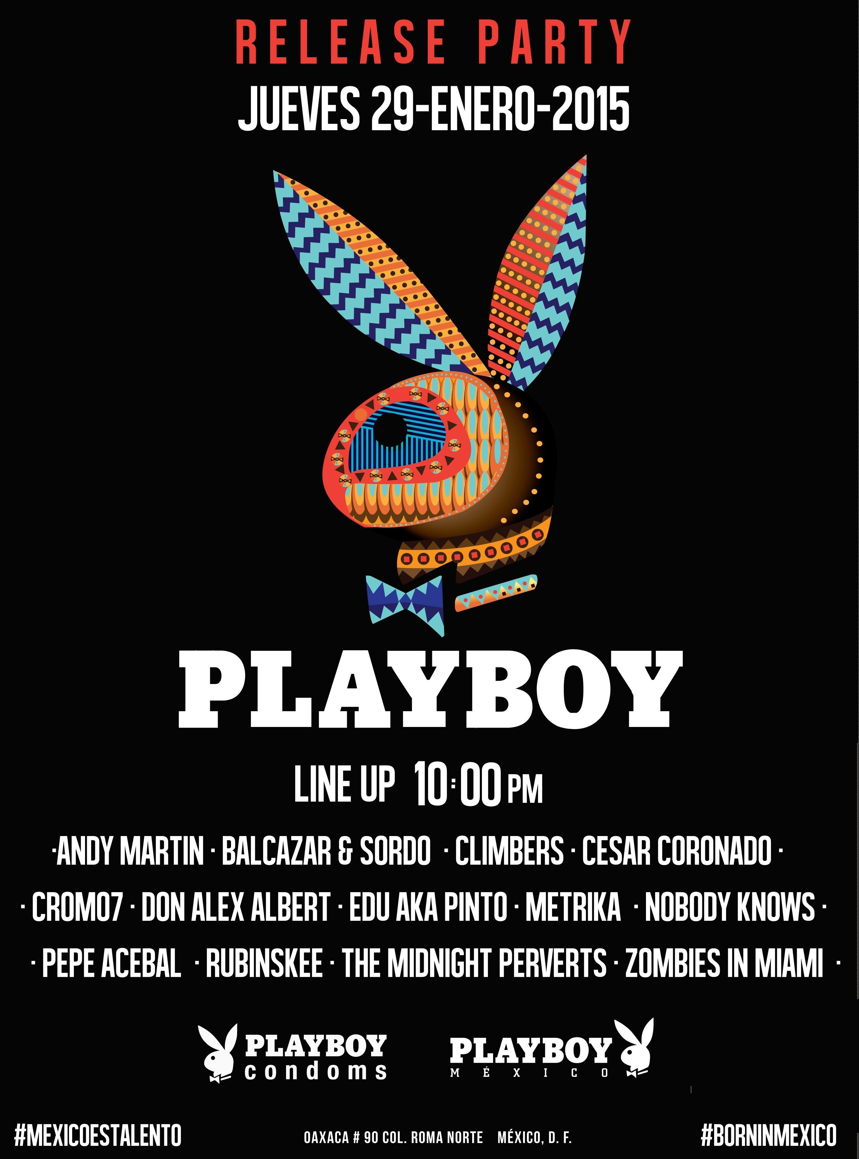 Playboy-CD-release-party-flyer