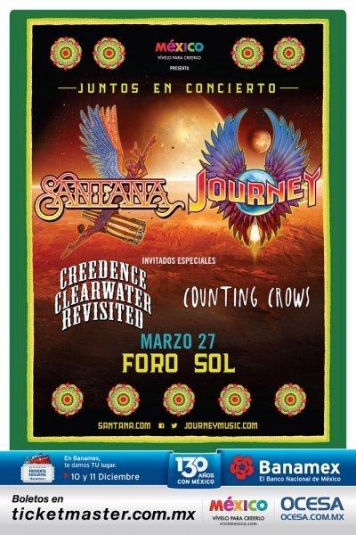 Santana y Journey