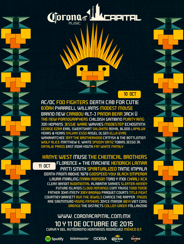 corona capital 2015 cartel falso