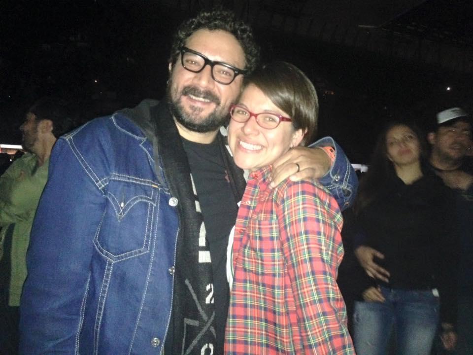 Jerónimo Luna. Fan #1 de Pearl Jam, colaborador de Freim y amigo.