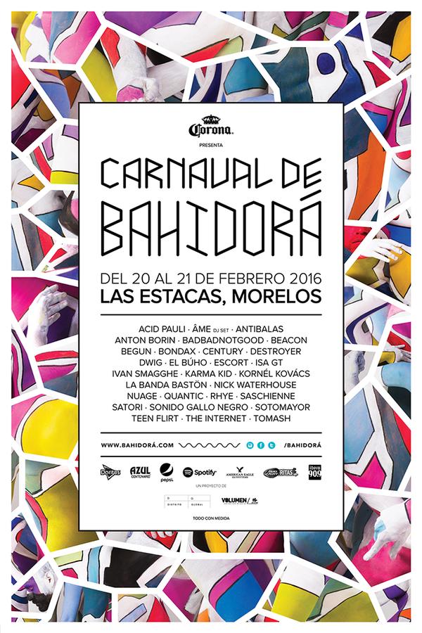 cartel carnaval de bahidorá 2016