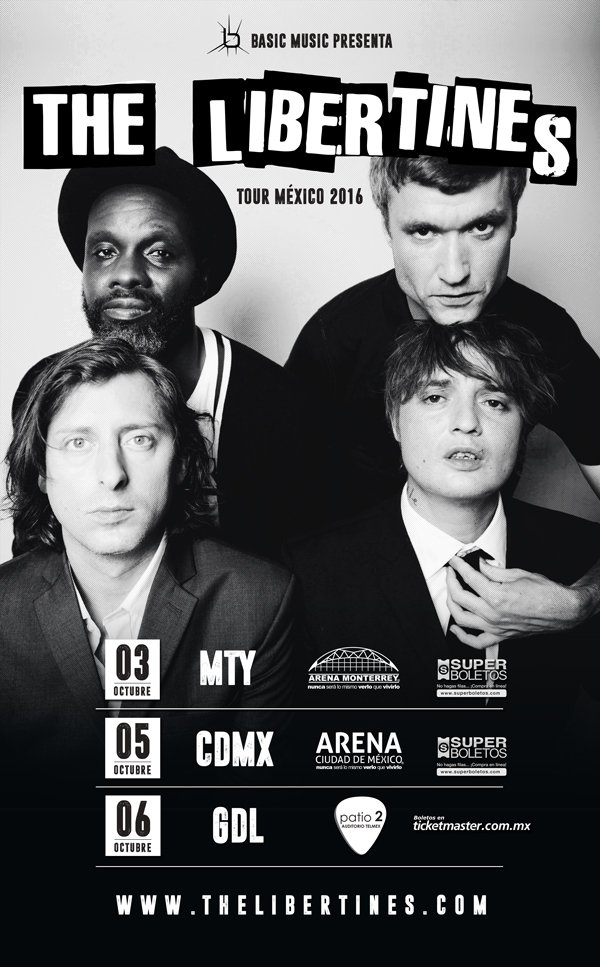 the libertines mexico 2016