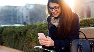 Girl-Using-Phone